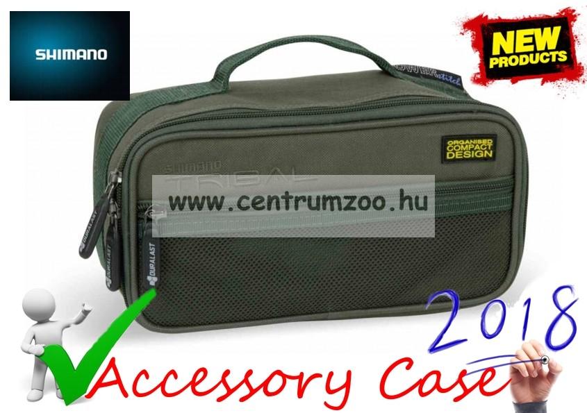 Shimano Tribal Carp Accessory Case szerelékes táska 25x13x11cm (SHTR23) d672be2717