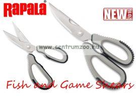 Rapala Fish and Game Shears Scissors Premium multifunkciós olló (RFGS-B)