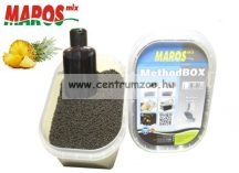 Maros Mix Method Box 2in1 ANANÁSZ pellet+locsoló   (MAPE019)