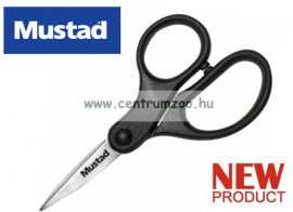 Mustad Braid Scissors profesional olló fonott zsinórhoz is (MT024 )