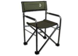 C-Carp F6 Green Color állítható háttámlájú karfás horgászfotel - 110kg - erősített