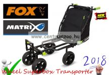 FOX Matrix 4 Wheel Superbox Transporter bojlis, versenyládás talicska (GTR004)