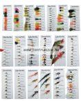 Daiwa Beadhead Nymphs Selection DFC21 műlégy szett NEW Collection (199202)
