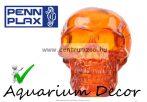 PENN PLAX Kristály koponya narancssárga 7,6x11x8cm dekoráció (098994)