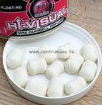 MAINLINE Baits High Visual Pop-Ups Dumbell White Milky 10mm 60db lebegő fluo bojli (M13016)