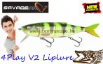 Savage Gear 4Play V2 Liplure 13,5cm 18g SF 05-Firetiger gumihal (61735)