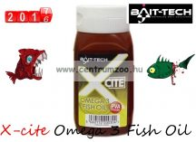 Bait-Tech X-cite Omega 3 Fish Oil paprika olaj  300ml (2500051)