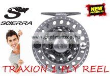Scierra TRAXION 1 FLY REEL #3/4 Black  prémium legyező orsó (50883)