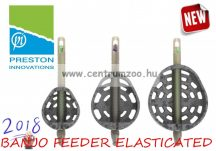 DURA BANJO FEEDER ELASTICATED (PBFE) LARGE - 45g feeder kosár