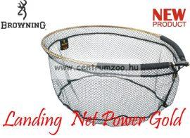 MERÍTŐFEJ  Browning Landing  Net Power Gold  60x50cm 25cm mély (7029028)