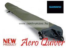 SHIMANO Stink Bag Aero Quiver felcsatolható merítő háló tartó táska 126cm  (SHTR29)