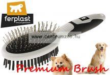 Ferplast Professional Premium 5763 Double szőrzet ápoló kefe prémium (85763799)