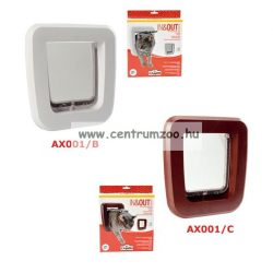Camon IN&OUT Classic White fehér macska ajtó AX001/B