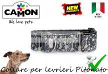 Camon Collare per levrieri Pitonato - agár nyakörv 42-52cm (DC134/F)