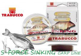 TRABUCCO S-FORCE SINKING  süllyedő zsinór 300m