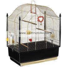 Ferplast Villa Oro díszes aranykróm felszerelt madár kalitka (52018802)