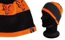 sapka - Fox Black & Orange Beanie kötött sapka (CPR993)