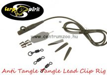 Carp Spirit Anti Tangle Lead Clip Rig DarkGreen szett - 3db szett (ACS010227)