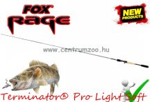 "FOX Rage Terminator® Pro Light Soft 6'6"" 199cm 5-21g 1rész pergető bot (NRD217)"