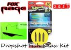 Fox Rage Dropshot Fish Snax Kit 1.2m x 0.28mm 7g komplett dropshot szett (NRR025)