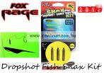Fox Rage Dropshot Fish Snax Kit 1.2m x 0.28mm 7g komplett dropshot szett (NRR025)