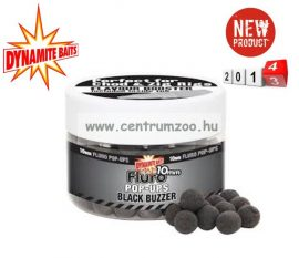 Dynamite Baits bojli Fluro Pop-Up Black Buzzer 15mm+Liquid Booster-DY603 DY604
