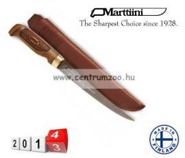 Marttiini Classic Superflex Filleting filézőkés 31cm (FNFSF7) TEFLONOS, BŐR TOKKAL