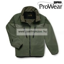Rapala Pro Wear Windlock Jacket Olive/Clear Moss L (22101-2)