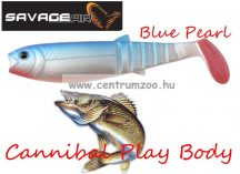 SAVAGE GEAR LB Cannibal Play Body  6,8cm 3g gumihal  Blue Pearl (61839)