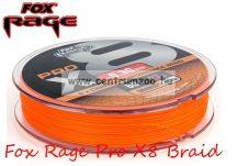 Fox Rage Pro X8 Braid 120m  25kg 25lb fonott zsinór fonott zsinór (NBL072)