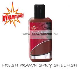Dynamite Baits Fresh Prawn Spicy Shellfish Liquid Attractant aroma 250 ml    DY166