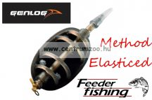 Genlog ELASTICATED FLAT In-Line METHOD FEEDER - gumizott method kosár 40g