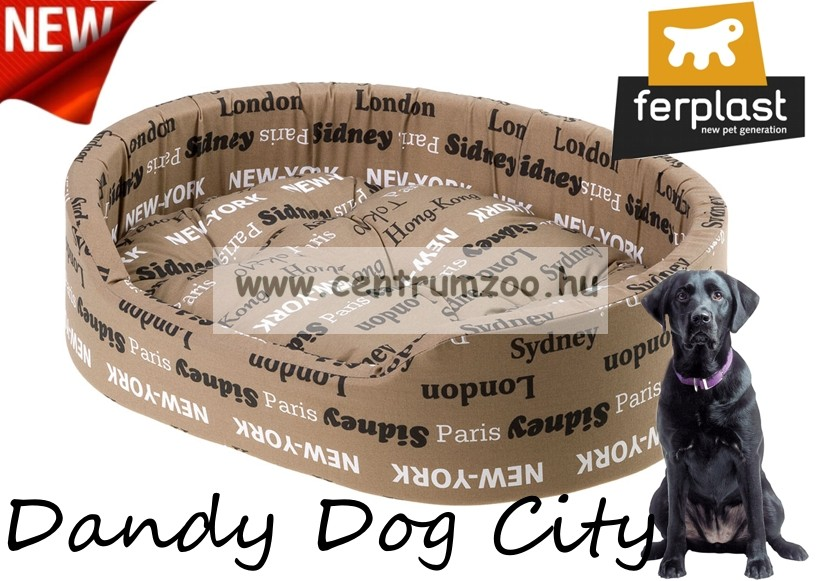 d4acec1318 Ferplast Dandy 80 kutyafekhely 80cm City (82944096) - Díszállat és ...