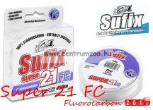 Sufix Super 21 Fluorocarbon 0,18mm 50m 5lb 2,3kg japán előkezsinór