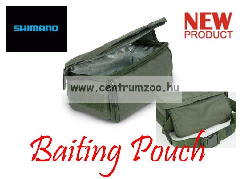 SHIMANO Baiting Pouch etető anyagos és szerelékes táska 27x13x11cm (SHTR20) d337b1aff9
