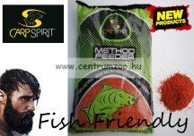 CARP SPIRIT France 100% Natural Bait - Method Feeder Red - prémium etető anyag 1000g