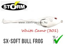 STORM SX-SOFT Bull Frog 03 gumibéka 7cm 20g -  White Camo (SXF3301)