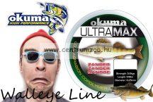 Okuma Ultramax 2oz Zander 15lbs 7.7kg 0.30mm Grey 370m (19173)