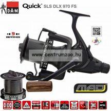 DAM QUICK SLS DLX 970 FS 9 csapágy nyeletőfékes orsó (D1352970)