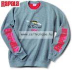 Rapala pulóver X-rap szürke S/M (49502-2)