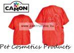 Camon Professional Grooming Red Coat kutyakozmetikusi kötény Medium (G656/B)