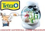 Tetra Cascade Waterfall Globe Fresh White akvárium szett 6,8 liter - FEHÉR
