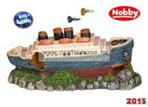 """Nobby akvárium dekoráció """"TITANIC"""" 26,5*12*10cm (28413)"""