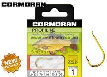 Cormoran PROFILINE Pontyozó horog 210G ELŐKÖTÖTT 10db/cs (70-210G0)