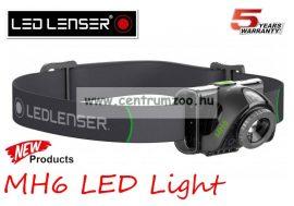 fejlámpa  LED LENSER MH6 Led fejlámpa 200lm 120m