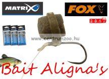 Fox Matrix Bait Aligna's feeder PELLETGYŰRŰ HOROGBEFORDÍTÓVAL 10db (GAC298)