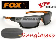 FOX Chunk Camo Sunglasses  Black & Orange Frame -  Grey Lense polar napszemüveg (CSN039)