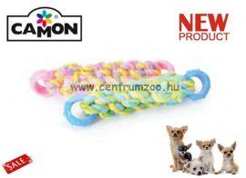 Camon Cotonossi con Inserti in Gomma fogtisztító, izgalmas játék kutyáknak 17cm Small (A970/C)