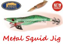 Lineaeffe Super Attractive Metal Squid Jig COLAB-4 tengeri műcsali 9,0cm (5079603) -ZÖLD