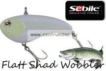 Sebile® Flatt Shad megbízható wobbler FS-077-SK - Ghostescent (1407731) süllőmágnes
